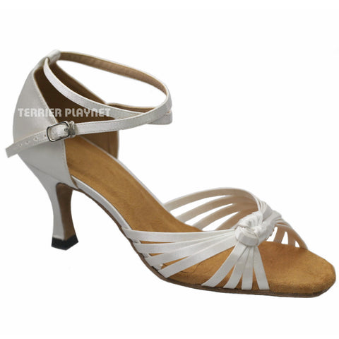 White Women Dance Shoes D930