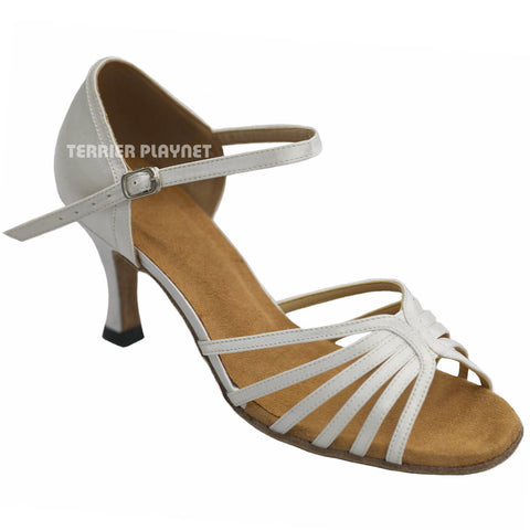 White Women Dance Shoes D936