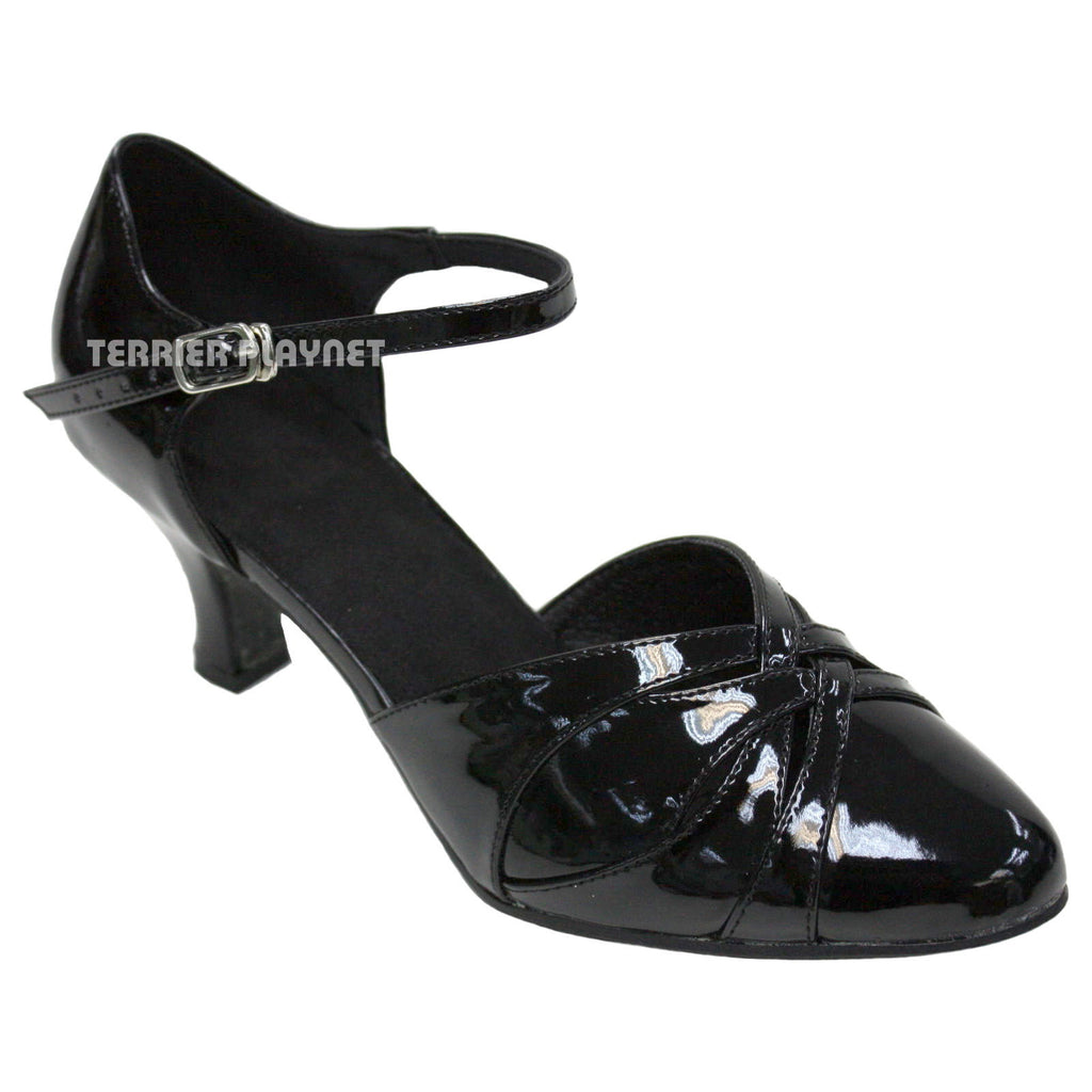 Black Women Dance Shoes D956 - Terrier Playnet Shop