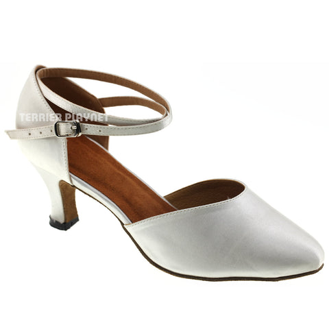 White Women Dance Shoes D983