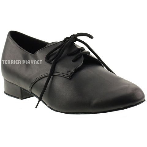 Black Men Dance Shoes M20 UK7.5/US8/EU41 1 Inches/2.5cm Heel