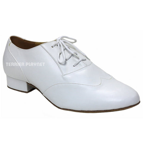 White Men Dance Shoes M55
