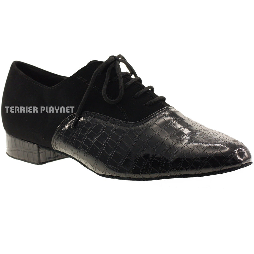 Black Men Dance Shoes M5 - Terrier Playnet Shop