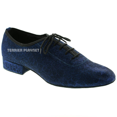 Blue Men Dance Shoes M60 UK10/US10.5/EU44.5 1 Inches/2.5cm Heel
