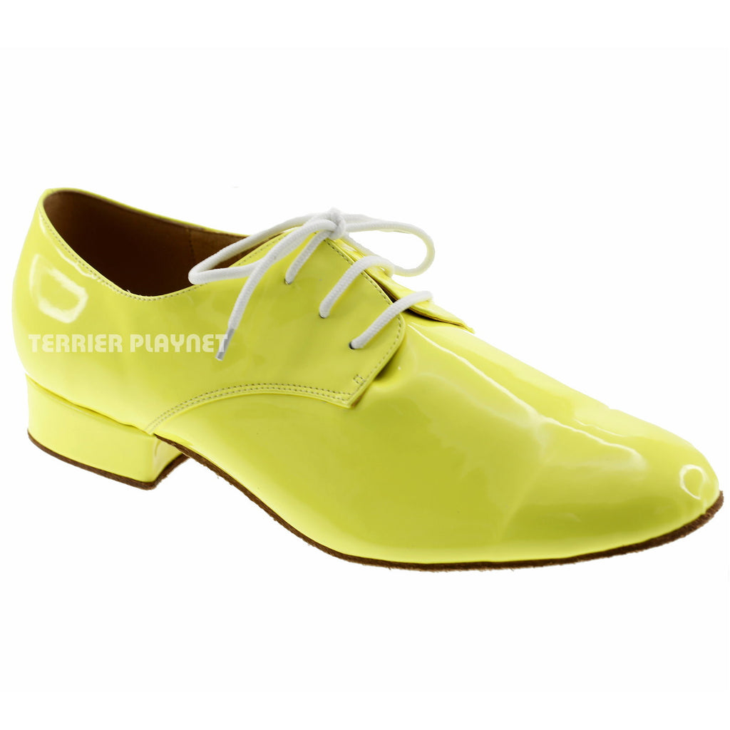 Yellow Men Dance Shoes M72 - Terrier Playnet Shop