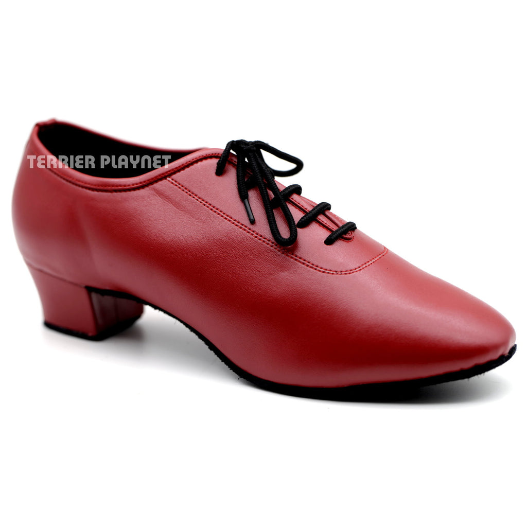 Red Men Dance Shoes M76 - Terrier Playnet Shop