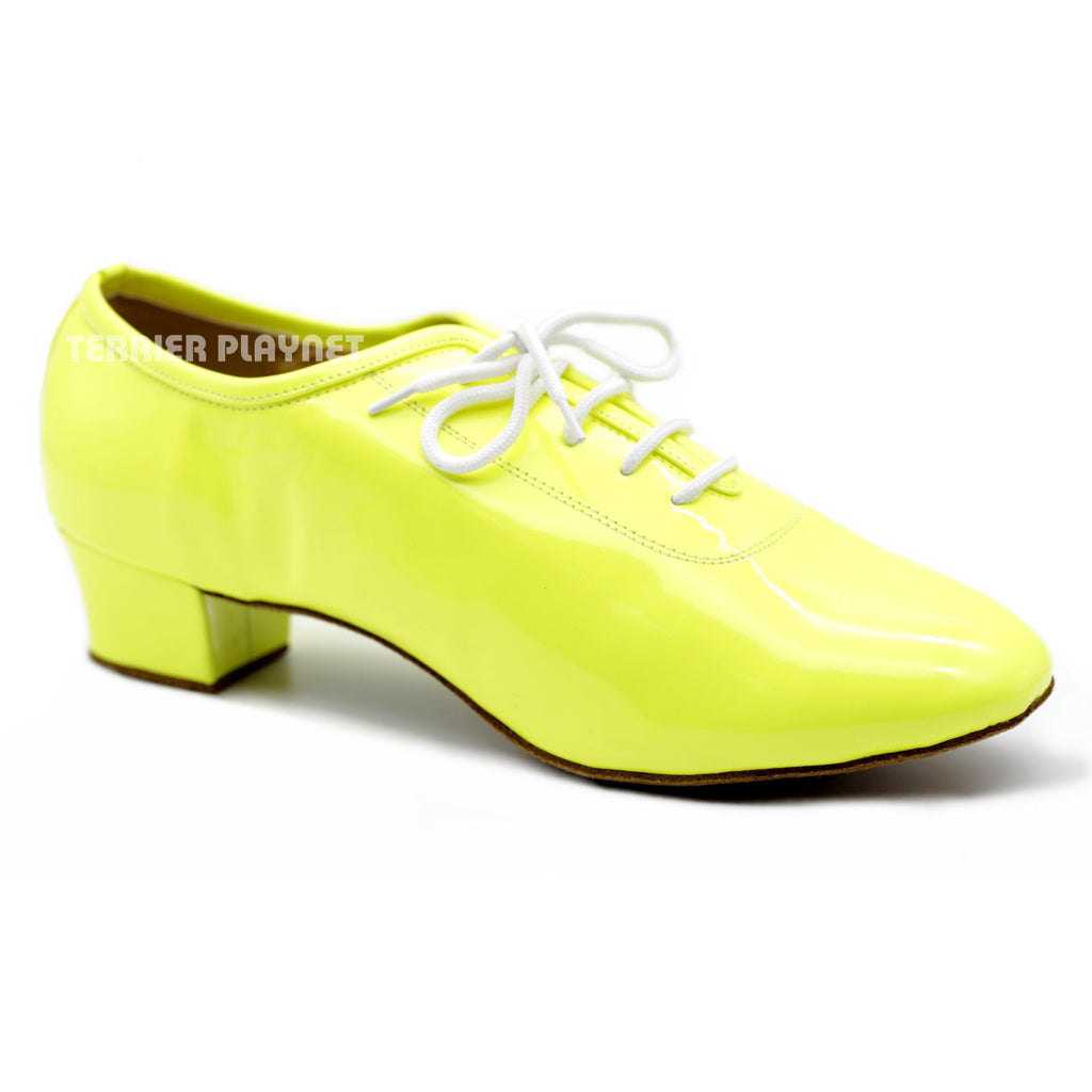 Yellow Men Dance Shoes M78 - Terrier Playnet Shop