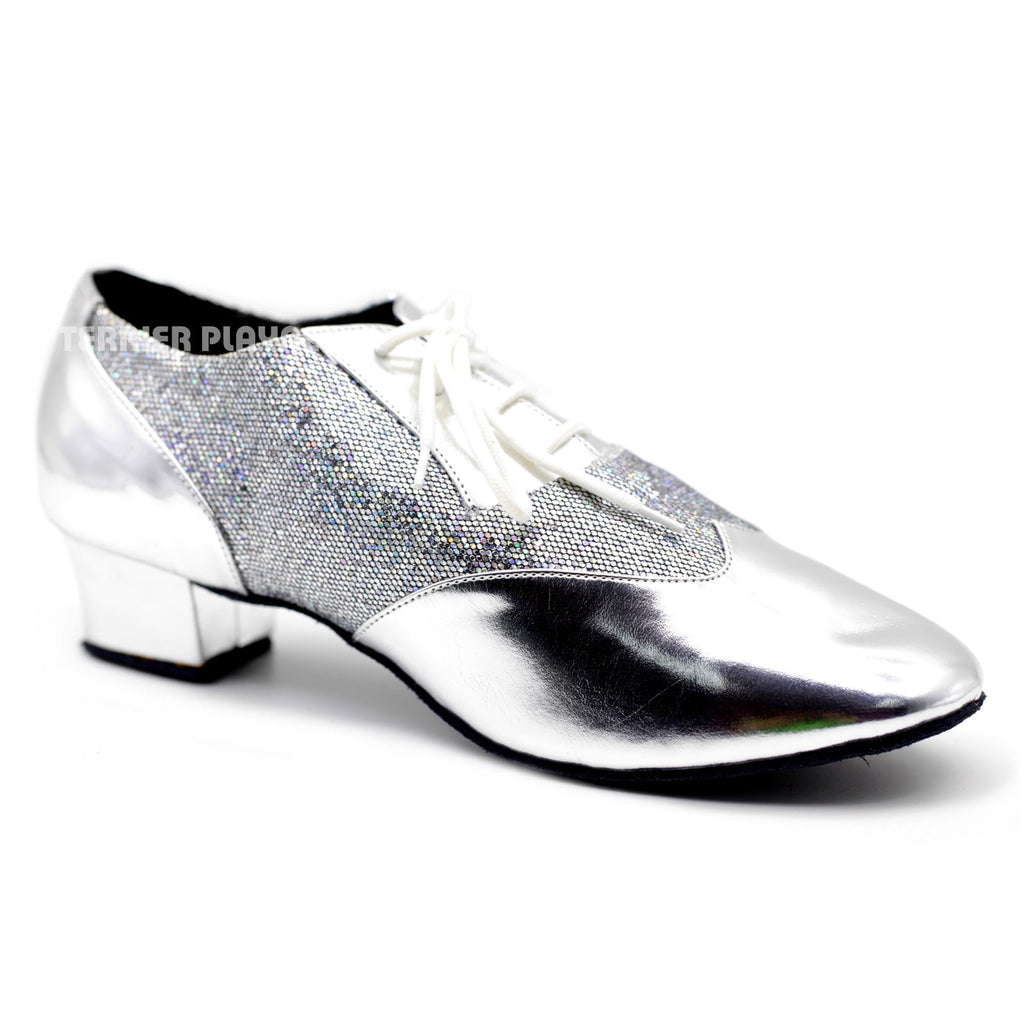 Silver Men Dance Shoes M81 - Terrier Playnet Shop