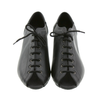 High Quality Black Leather Women Dance Shoes D527
