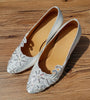 White Swarovski Crystals Lace Women Dance Shoes W007 - Terrier Playnet Shop
