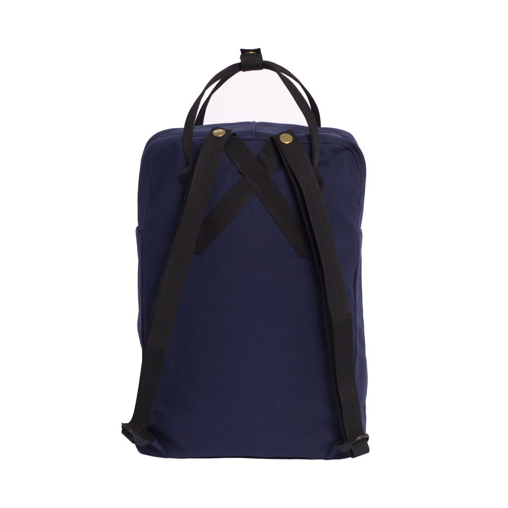 Navy Backpack Tote - Back