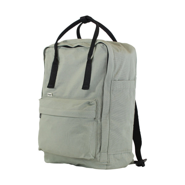 Light Olive backpack tote - Side