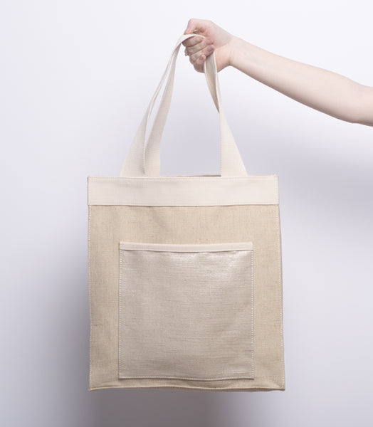 Lazy Sunday Market Tote - Front