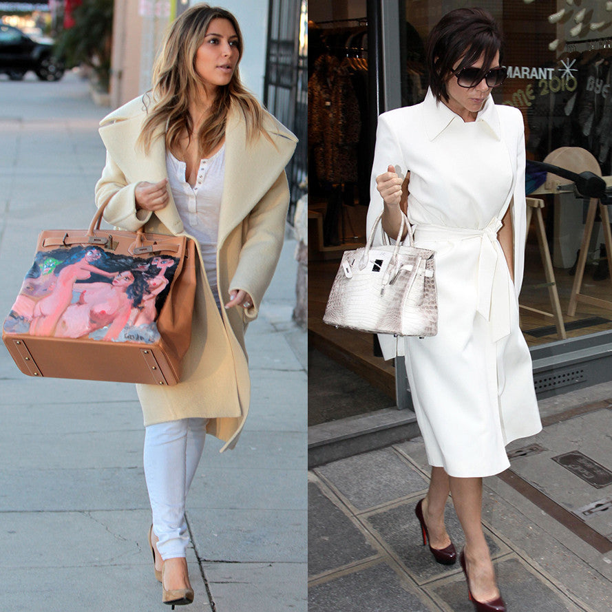 Celebrity Love for Hermès