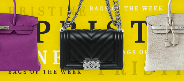 Bags of the Week: Pristine Condition