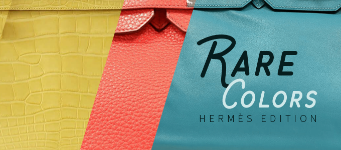 Bags of the Week: Rare Colors Hermès