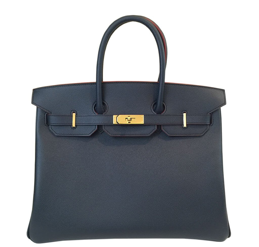 Under The Spotlight: Hermès Birkin Indigo Bi-Color