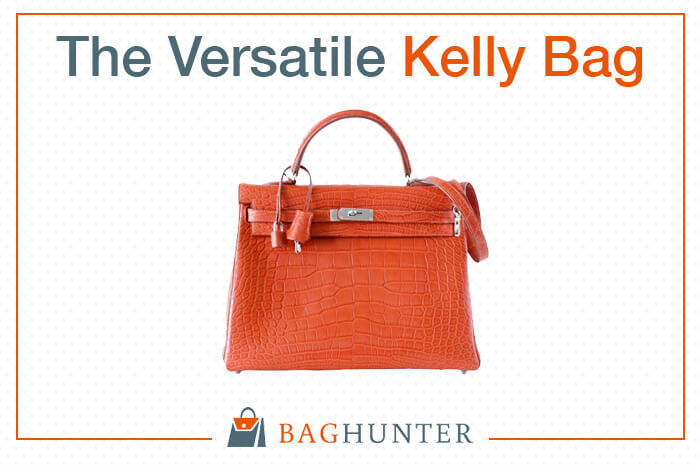 The Versatile Hermès Kelly Bag