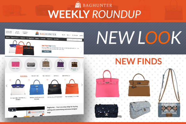 Weekly Roundup: Baghunter's Redesign and More