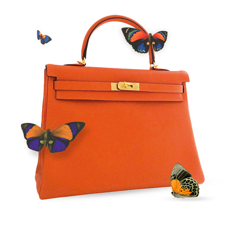 Hermes Kelly Orange