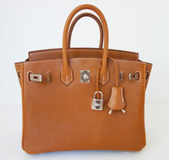 Barenia Leather Hermes Bag