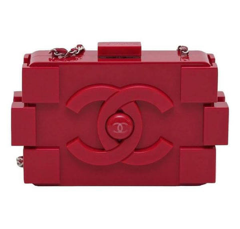 Chanel Lego Brick Bag in Red