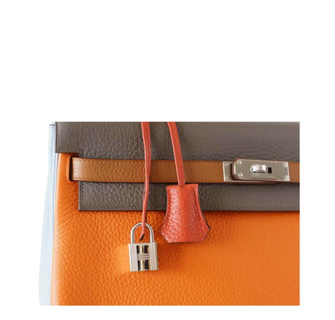 Hermes Kelly 35 Supple Arlequin Limited Edition