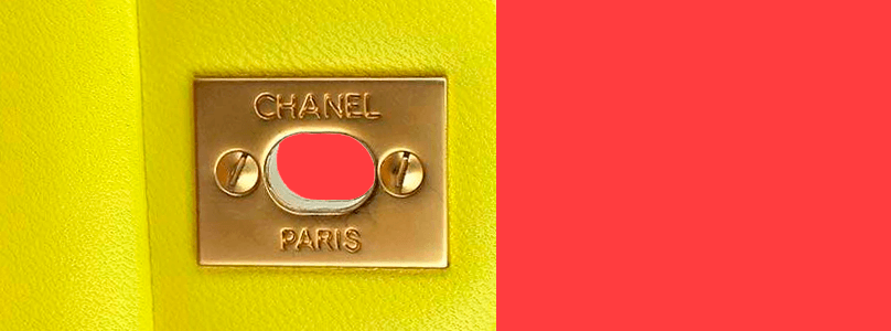Chanel Back of Lock