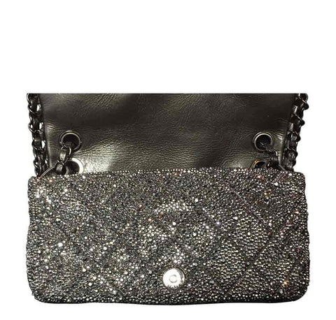 Crystal Chanel Bag with Swarovski Crystals