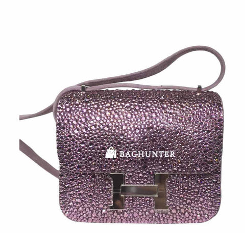 Hermes Constance Mini with Swarovski Crystals
