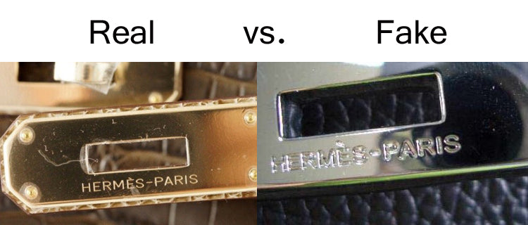 Real vs Fake Hermes Engravings