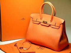 Hermes Birkin and Orange Box