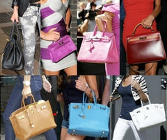 Victoria Beckham Many Hermes Bags