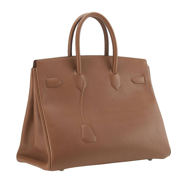 hermes birkin 35 alezan shadow limited edition new back side