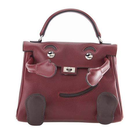 Hermes Kelly Idole Rouge Bag