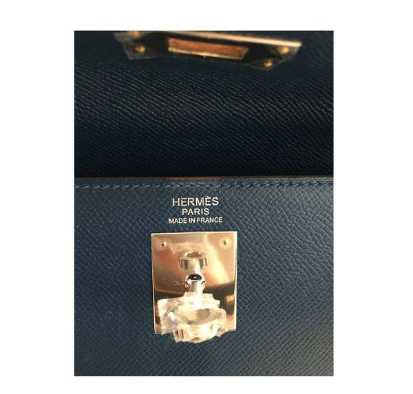 hermes kelly 32 flag sellier white blue thalassa new embossing