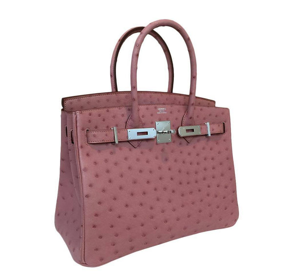 hermes birkin 30 terre cuite new side open
