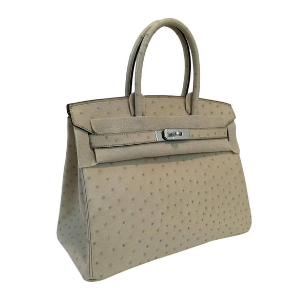 hermes birkin 30 parchemin new side
