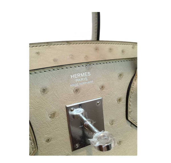 hermes birkin 30 parchemin new embossing