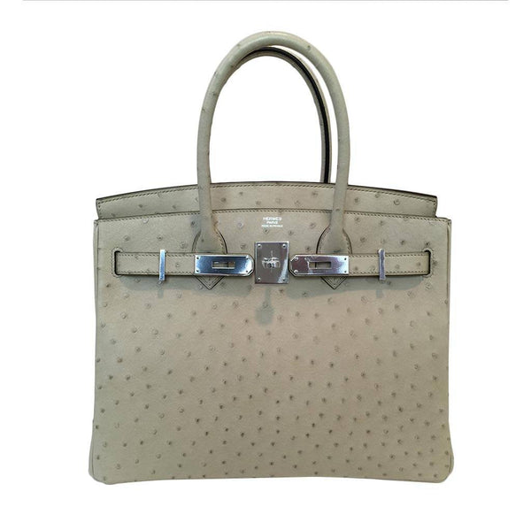hermes birkin 30 parchemin new front open