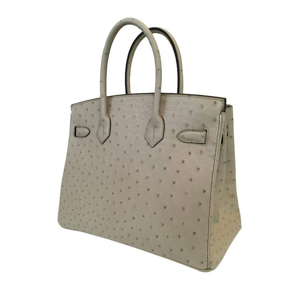 hermes birkin 30 parchemin new back