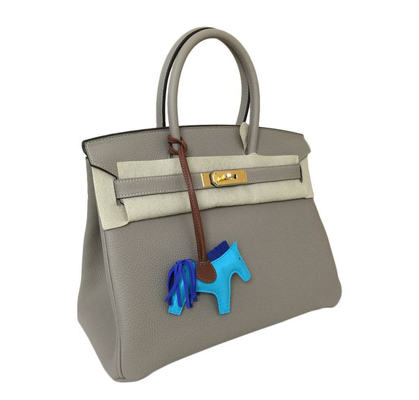 hermes birkin 30 gris tourterelle new side