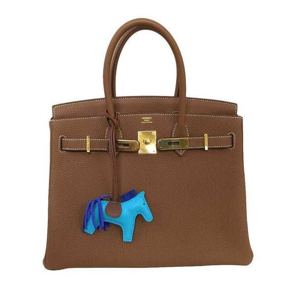 Hermes birkin 30 gold new open
