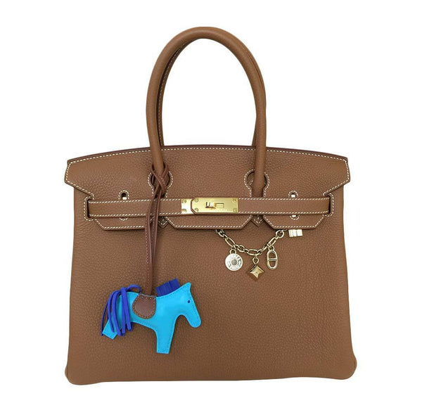 Hermes Birkin 30 Gold Bag Togo