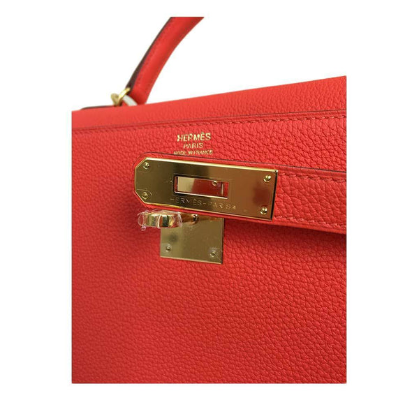 hermes kelly 32 cappucine new engraving