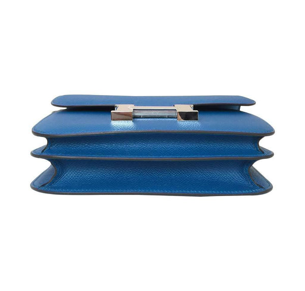 hermes constance 18 blue izmir new bottom