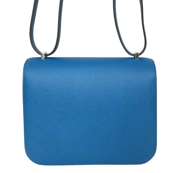 hermes constance 18 blue izmir new back