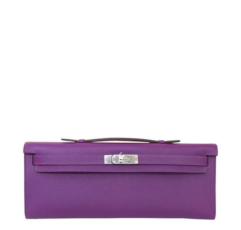 Hermes Kelly Cut Anemone Bag