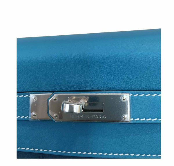 hermes kelly 32 tri-color limited edition used engraving