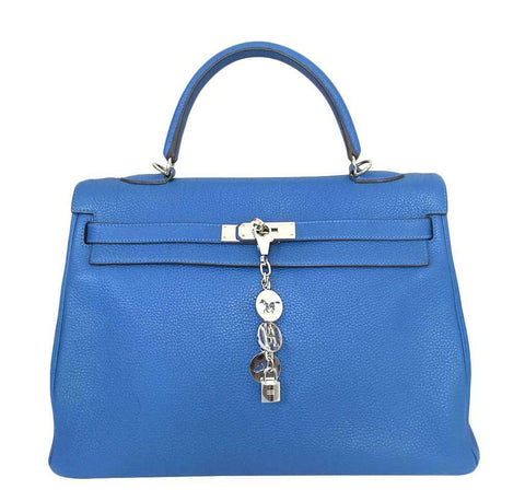 Hermes Kelly Retourne 35 Mykonos Bag
